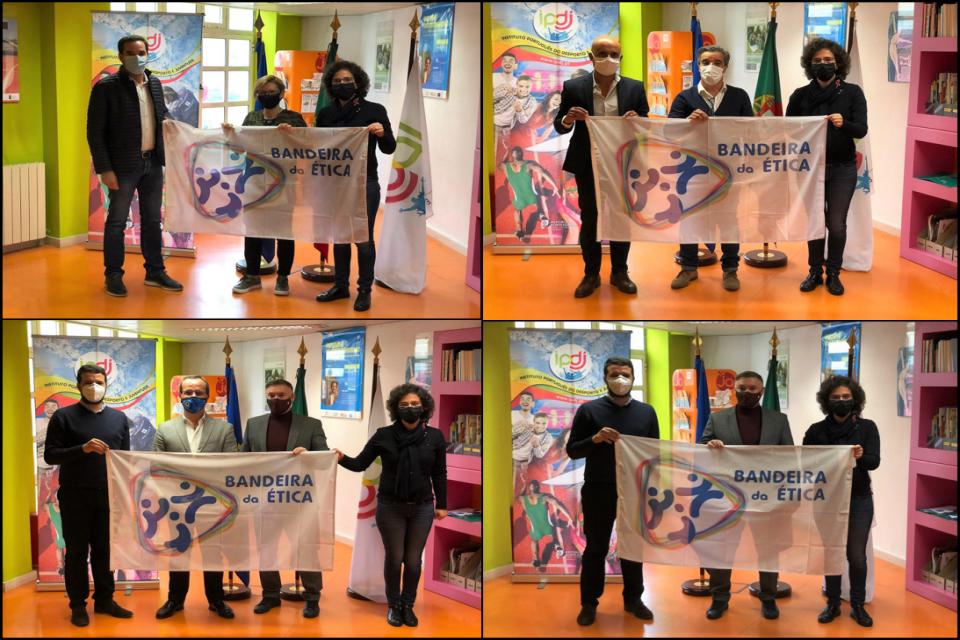 entrega da Bandeira da Ética em Aveiro