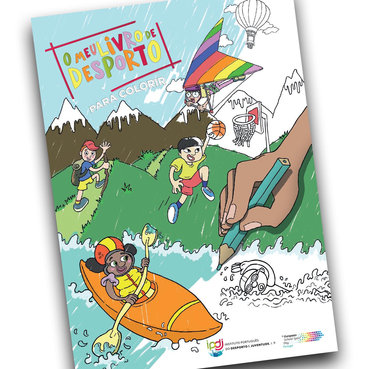 capa de livro para crianças