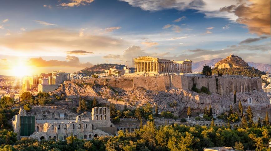 Imagem da Cidade de Atenas - Fonte Conselho da União Europeia