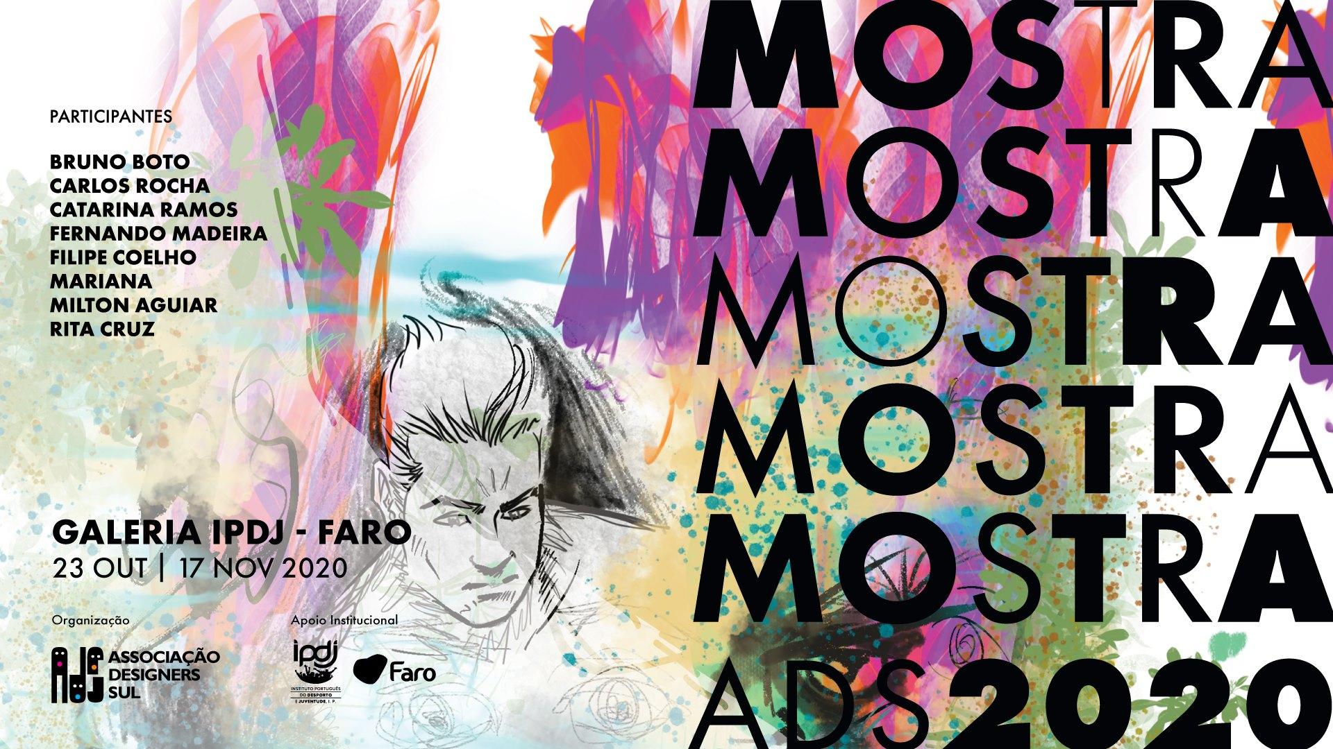 Cartaz da exposição «Mostra ADS 2020»