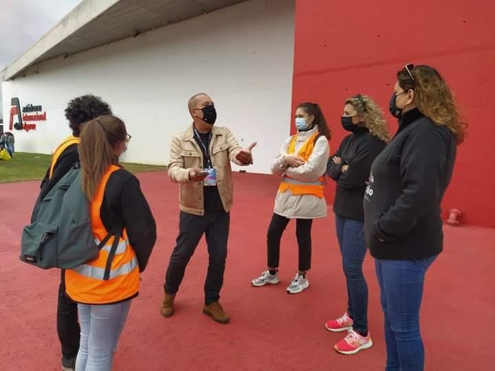 Diretor Regional do Algarve a dar indicações sobre a ação