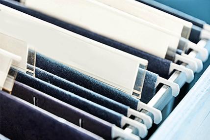 Imagem de arquivo de processos