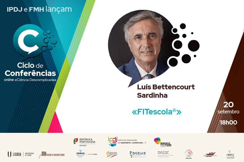Ciclo de conferências co Luís Sardinha