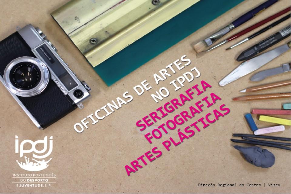 equipamento relacionado com as oficinas de artes