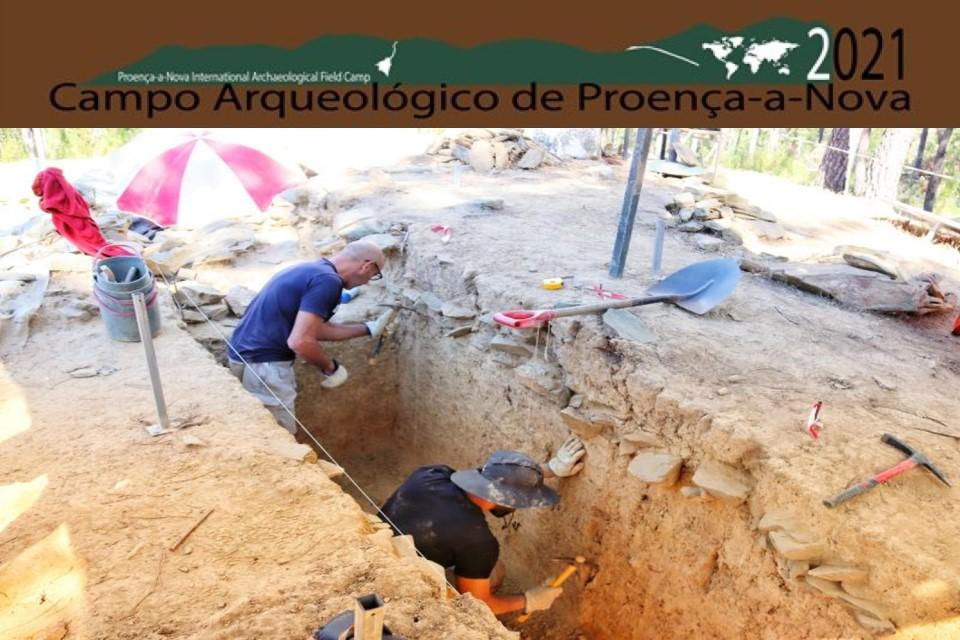 trabalhos arqueológicos