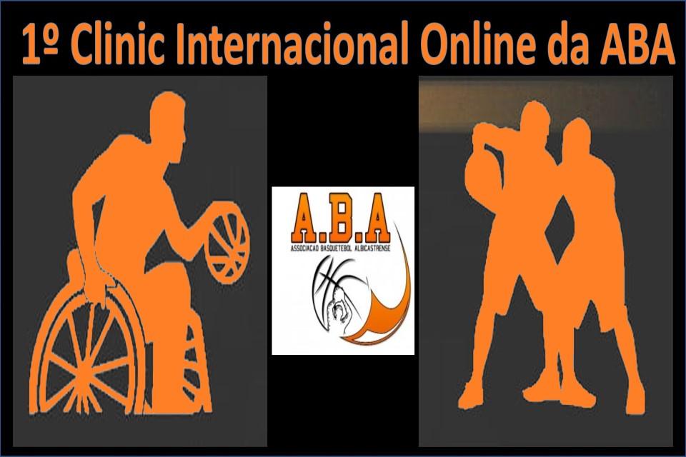 silhuetas de basquetebol a pé e em cadeira de rodas