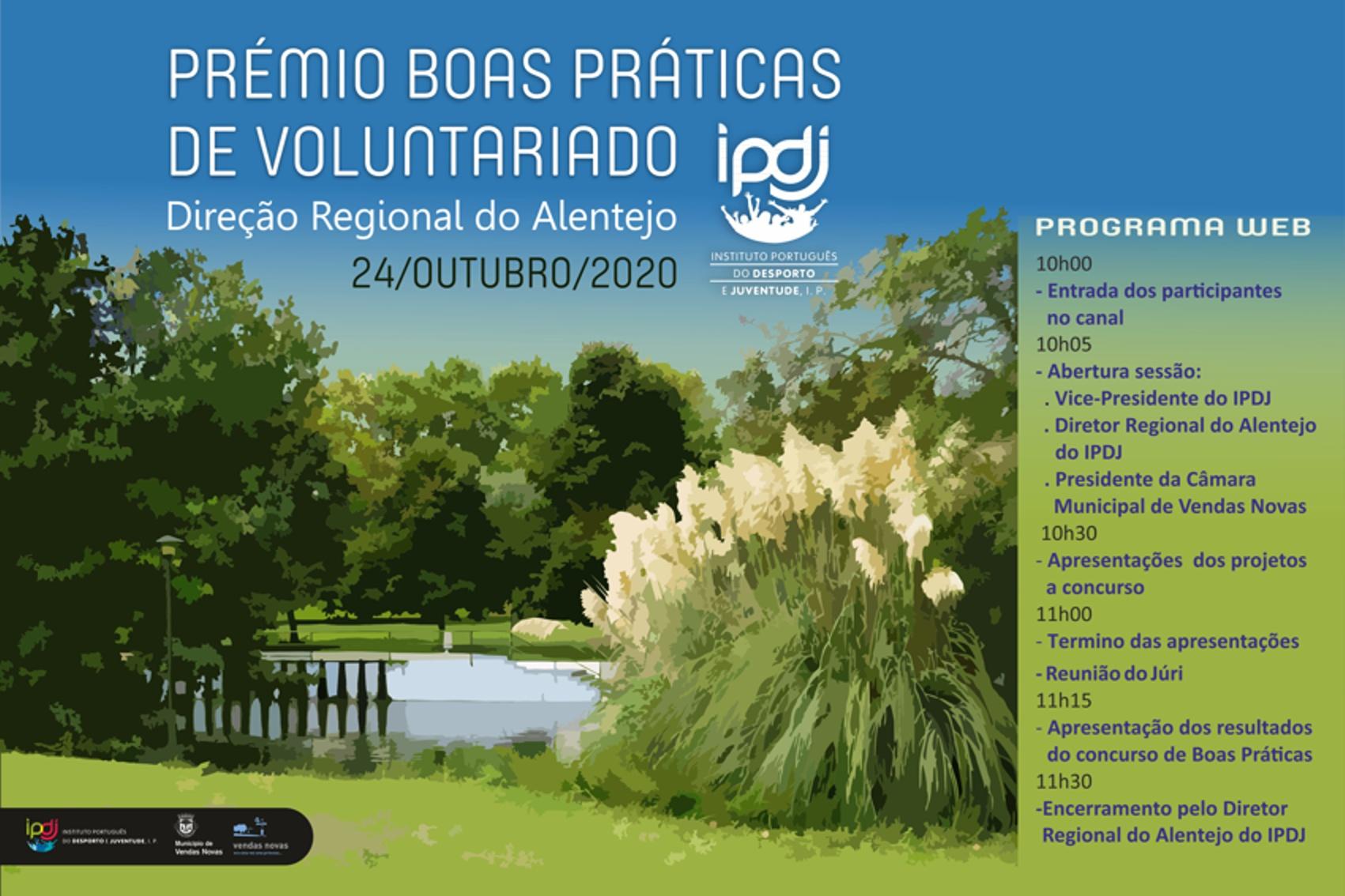 Imagem com programa do evento