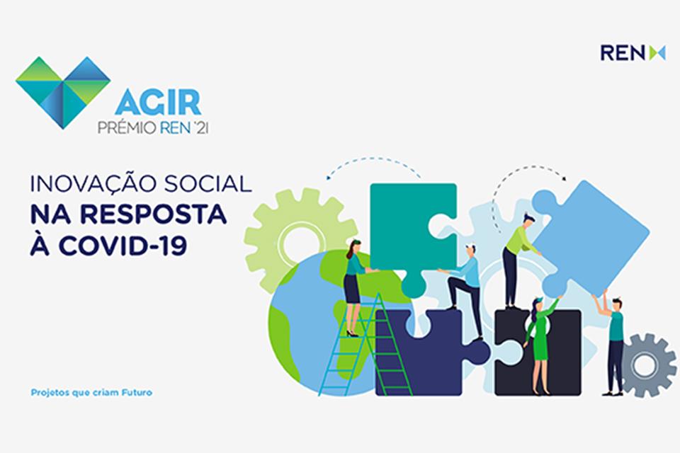 AGIR prémio REN inovação social na resposta à covid-19