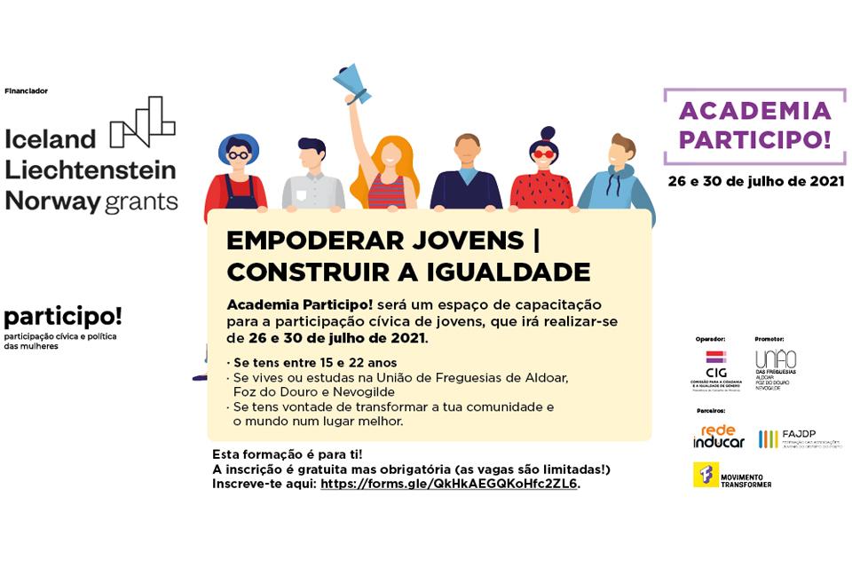 PARTICIPO_Participação Cívica e Política das Mulheres