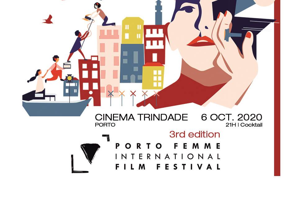 Imagem do cartaz Porto Femme 3º Festival Internacional de Cinema - 6 de outubro 21h cinema trindade Porto