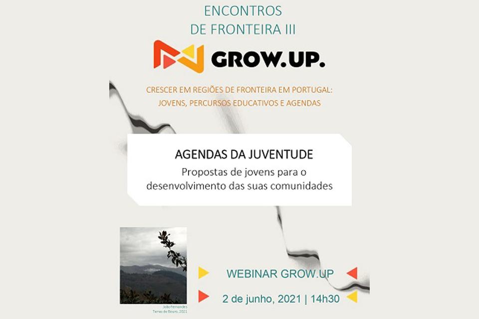 Webinar Grow Up Encontros de Fronteira III dia 2 de junho às 14h30