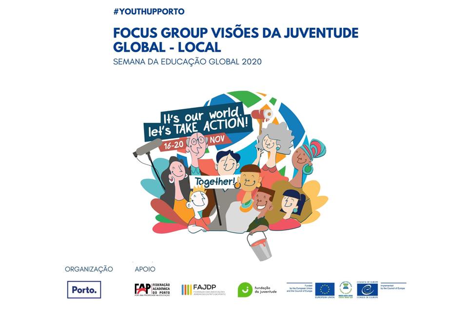 Focus Group Visões da Juventude Global - Local / Semana da Educação Global 2020