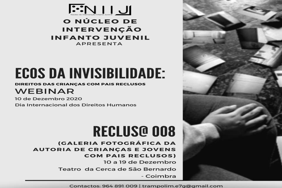informação do evento com foto a preto e branco