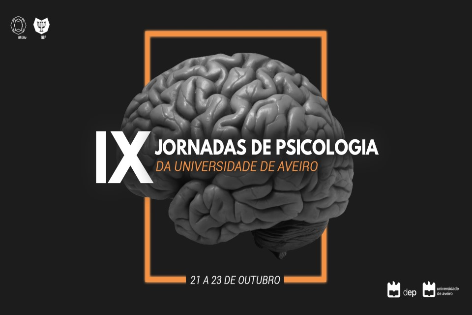cartaz com cérebro humano