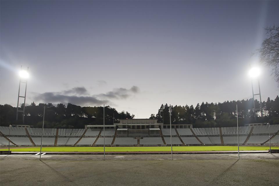 vista do estádio nacional - jamor