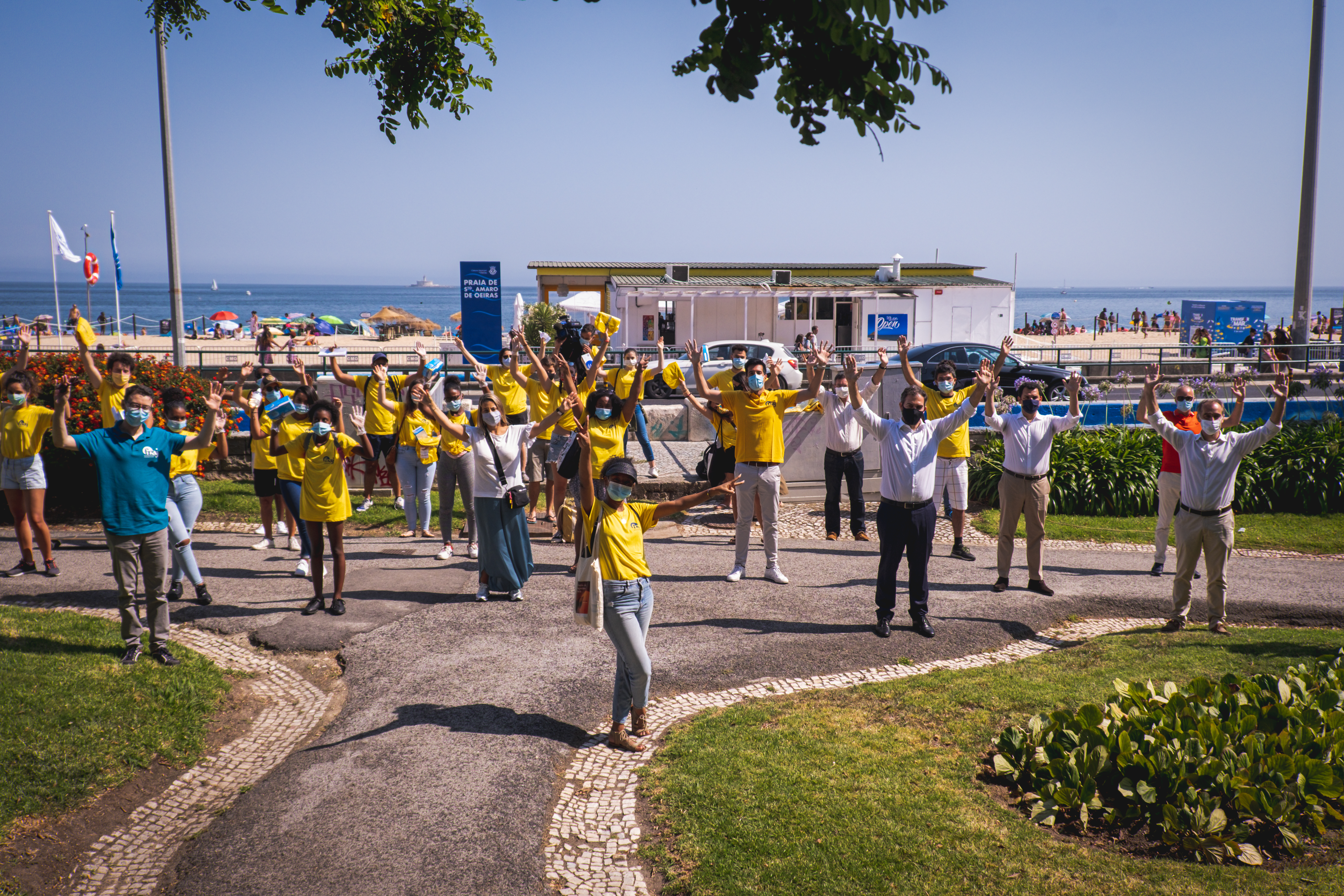 jovens durante action day