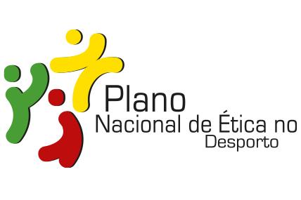 Logótipo Plano Nacional de Ética no Desporto