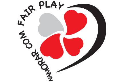logotipo namorar com fair play