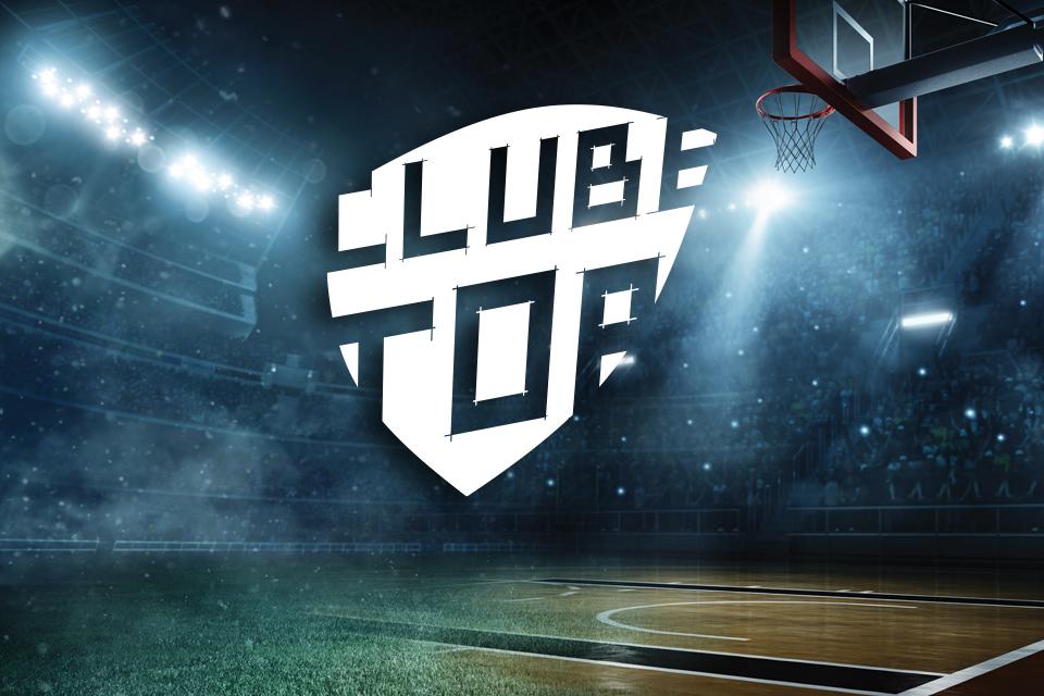imagem de campo desportivo com o logotipo do CLUBE TOP