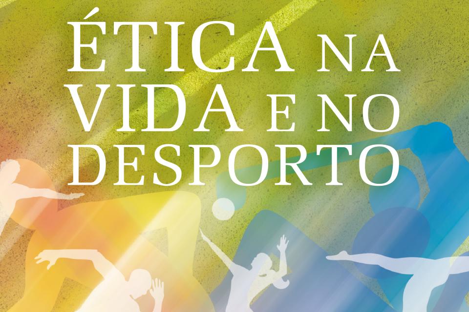 Lettering da iniciativa Concurso Literário «A Ética na Vida e no Desporto»
